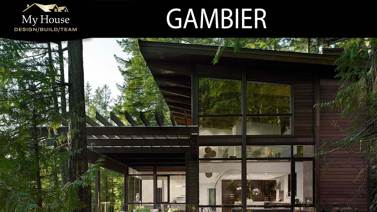 My House Feature Homes - Gambier Island - YouTube