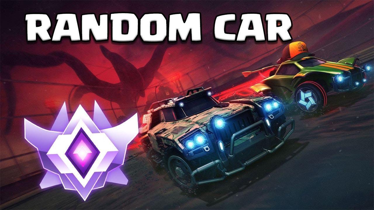 RANDOM CAR CHALLENGE | 2v2 GRAND CHAMPION | Rocket league deutsch