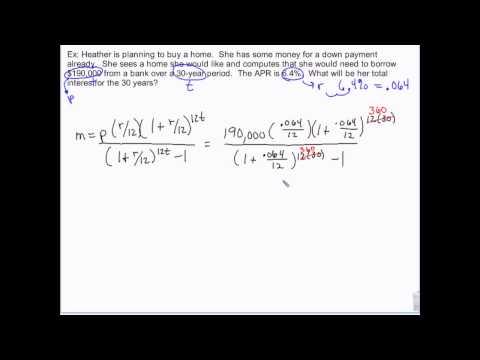 Financial Algebra - Mortgage math - debt to income ratios
