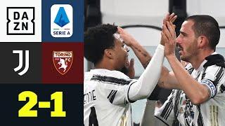 Last-Minute-Bonucci zum Derbysieg: Juventus - FC Turin 2:1 | Serie A | DAZN Highlights