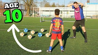 Download lagu I Challenged A 10 YEAR OLD KID To A Free Kick Competition MP3