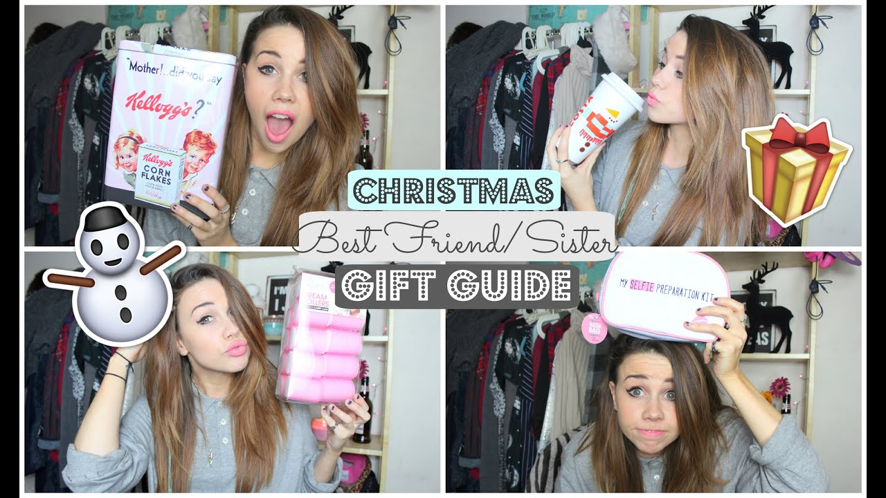 Best Friend Sister Gift Guide Copperdoeschristmas Youtube