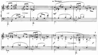 Poulenc, Improvisation n. 13 in A minor (1958)