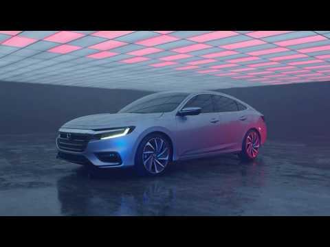 2019 Honda Insight   Two-motor hybrid powertrain   Manufacturer video