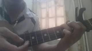 Hướng dẫn Vùng Lá Me Bay _ guitar solo (end)