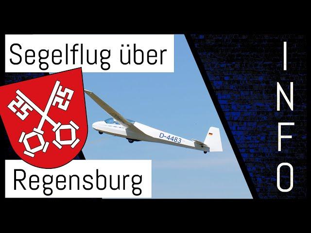 Segelflug über Regensburg