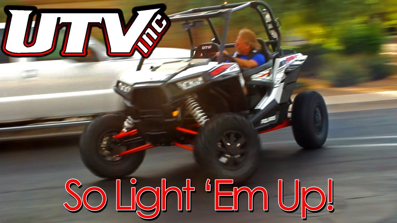 UTV INC Polaris RZR XP 1000 XP1K Burn Out Donut Drift - YouTube