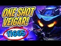10,000 DAMAGE VEIGAR?! - One Shot Build | TFT | Teamfight Tactics | League of Legends Auto Chess