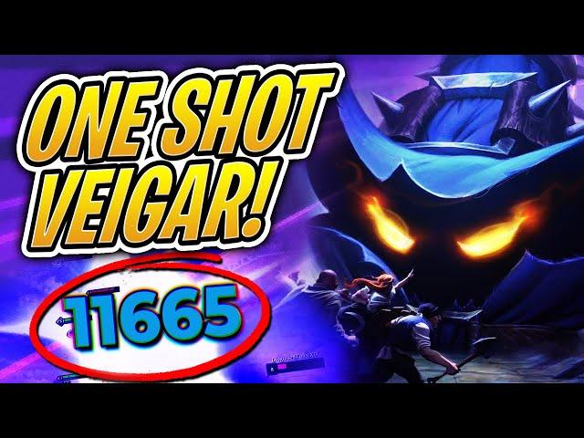 10,000 DAMAGE VEIGAR?! - One Shot Build | TFT | Teamfight Tactics | League of Legends Auto Chess