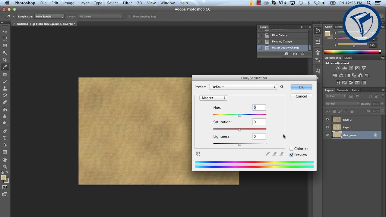 photoshop how to make realistic textures