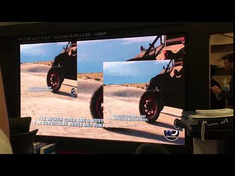 Seamless HD LED video wall