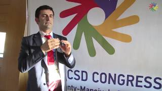 DAILY VIDEO REPORTS:  Interview with the Turkish Deaf Sport Federation President