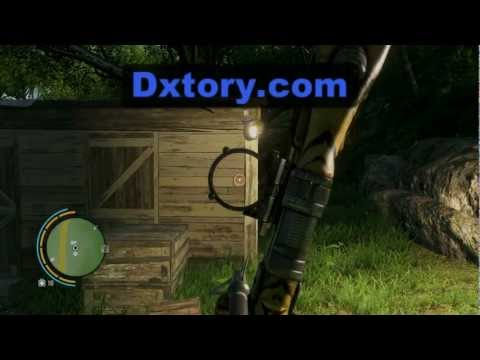 Practicing Recurve Bow In Far Cry 3 Youtube