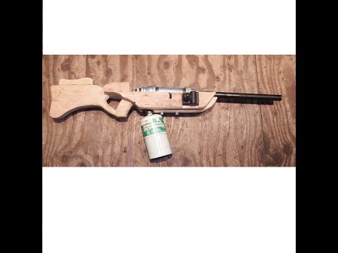 Building My Propane Rifle (spud cannon)...