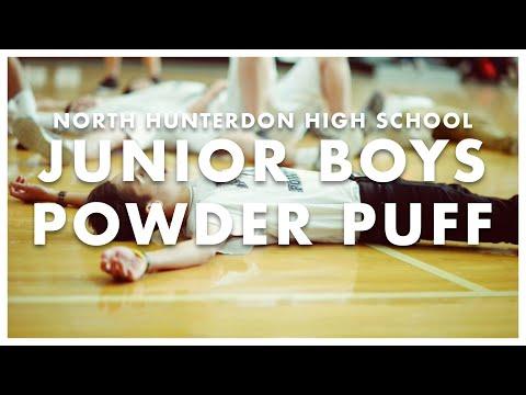 North Hunterdon High School Junior Boys Powder Puff 2015