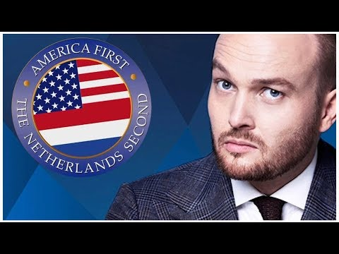 America First  The Netherlands Second  Donald Trump Zondag met Lubach