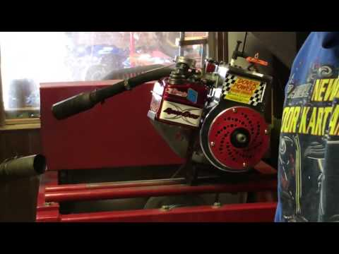 Briggs Flathead Race Engine Dyno Test