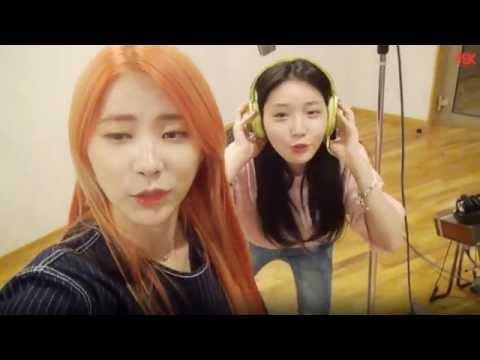 [VIETSUB] Chaeyeon-Cathy-Somi-Yoojung-Chungha tại phòng thu Flower Wind and You