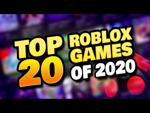 BEST ROBLOX GAMES OF 2020 - TOP 20
