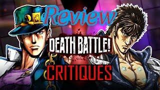 Death Battle Review/Critique: Jotaro Kujo VS Kenshiro