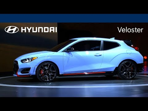The 2019 Hyundai Veloster — born to blend out. Watch the live reveal to see why.
