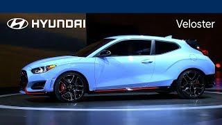 2019 Hyundai Veloster Reveal Livestream at NAIAS Hyundai смотреть