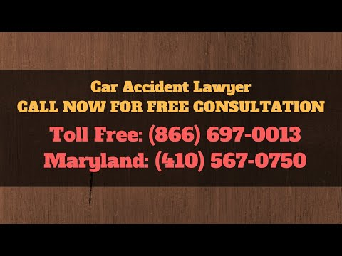 Car Crash Injury Claim Baltimore MD