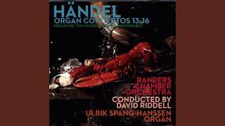 Orgelkoncert nr. 14 (HEV 296a) i A-dur - Grave: Organo ad libitum