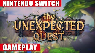The Unexpected Quest Nintendo Switch Gameplay