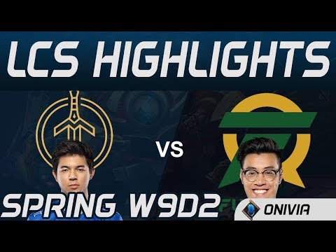 GG Vs FLY Highlights LCS Spring 2020 W9D2 Golden Guardians Vs Flyquest LCS Highlights 2020 By Onivia