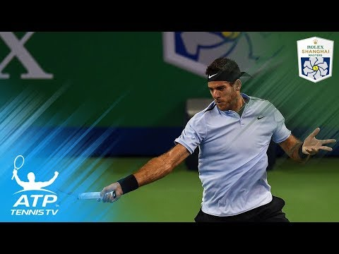 Chung, del Potro, Tiafoe win through to round two | Shanghai Rolex Masters 2017 Highlights Day 1