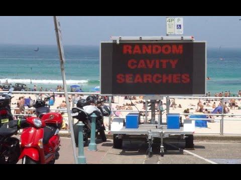 Australia Day 2020 Stunt At Bondi Beach WOWSERNATION