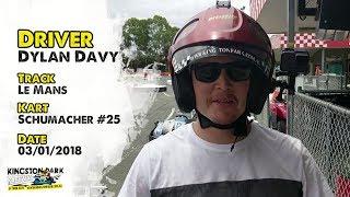Driver Profile - Dylan Davy  |  Kingston Park Raceway Go Karting Brisbane Gold Coast