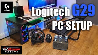 How To Setup Logitech G29 Racing Steering Wheel On A Pc