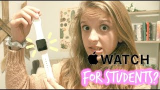 How an Apple Watch is PERFECT  for Students ll Apple Watch Review + Tips and Tricks