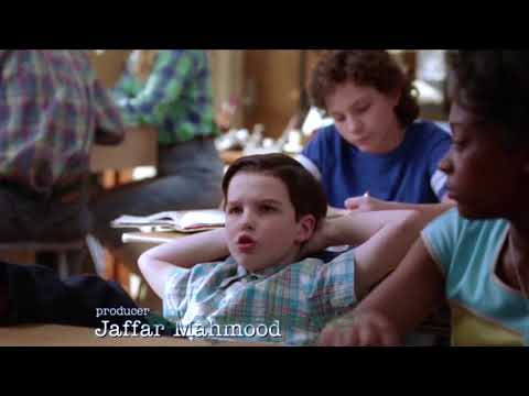 Young Sheldon Trouble with School!