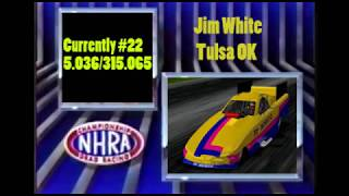 OHRA Sunoco Drag Racing Series Funny Car Pomona Round 2 Qualifying