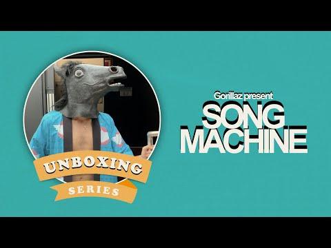 Gorillaz presents a Song Machine Unboxing 🐴