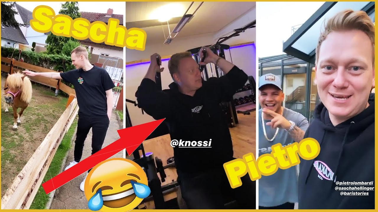 KNOSSI der Fitnesstrainer!?😂💪🏼   Knossi-Stories  