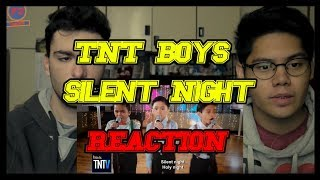 TNT Boys - Silent Night REACTION