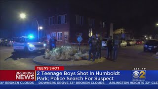 2 Teenagers Injured In Shooting In Humboldt Park