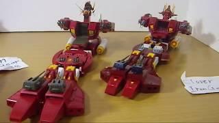 アイアンギアー 比較 #Clover chogokin #IronGear Xabungle Robot Base GX-38.