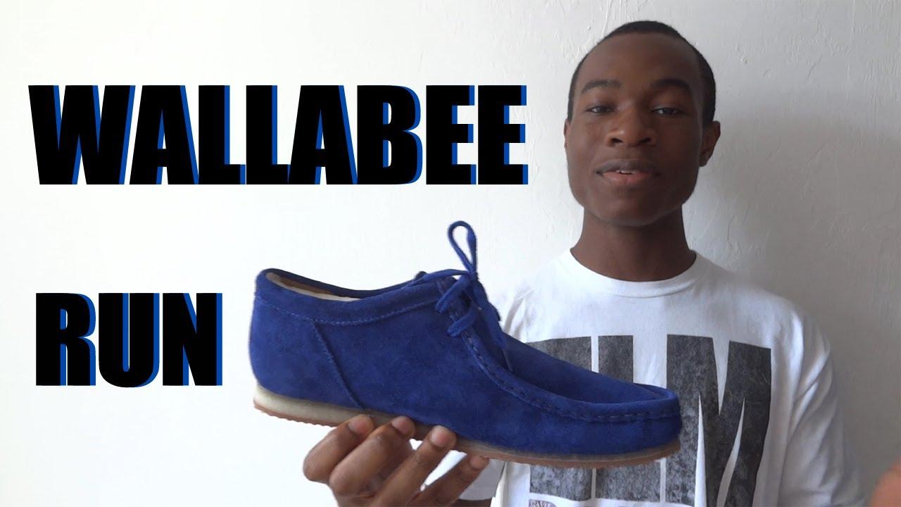 Run Feet Wallabee Cobalt ReviewOn Clarks dxorCeWB