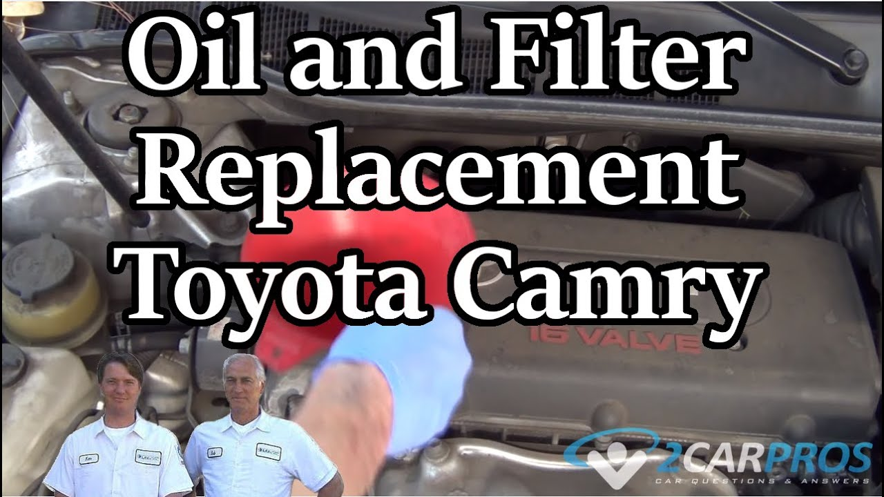How To Change Oil And Filter In 20 Minutes Toyota Camry