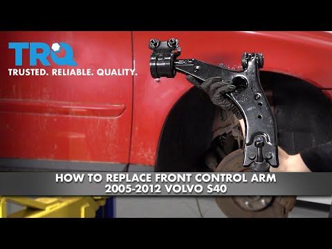 How To Replace Lower Control Arm 2005-2012 Volvo S40