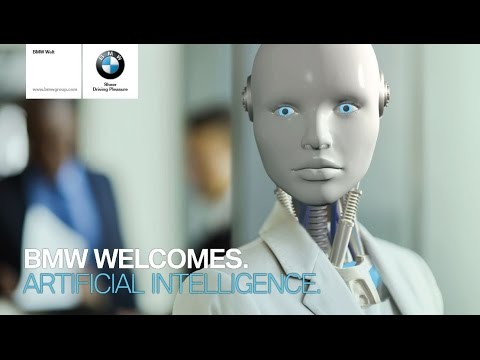 BMW WELCOMES. ARTIFICIAL INTELLIGENCE.