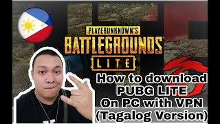 Gambar cover (Tagalog Version) How to Download PUBG lite PC Version with VPN
