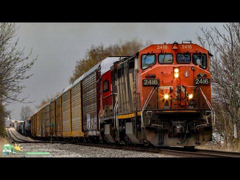 TRAINS on Parade! Indiana, Illinois, Kentucky Railfanning