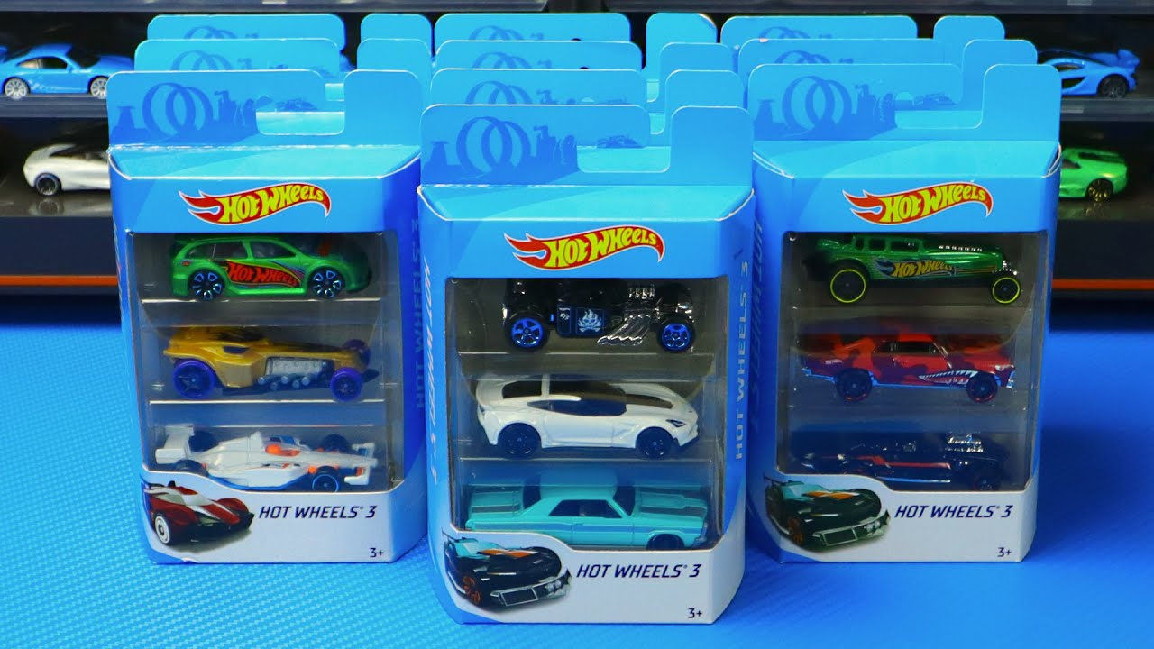 Opening 10 New Hot Wheels 3 Packs