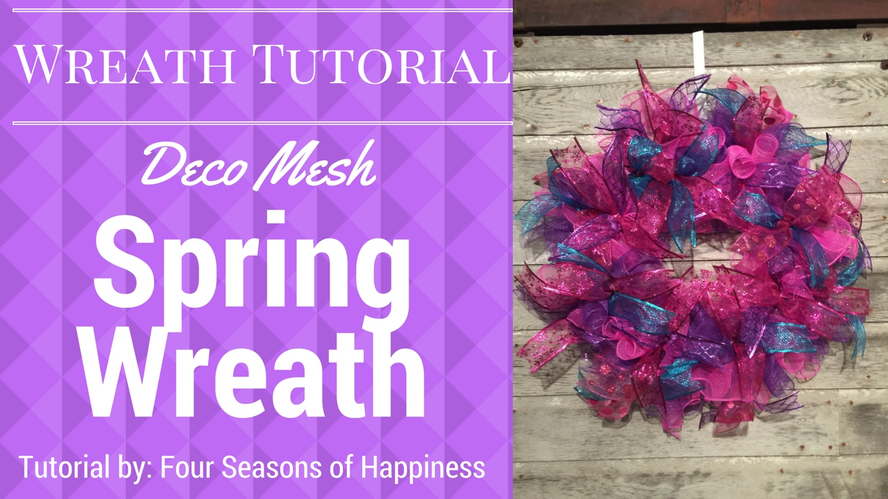 Spring wreath deco mesh spring wreath deco mesh wreath pink spring wreath deco mesh spring wreath deco mesh wreath pink purple teal deco mesh wreath baditri Gallery
